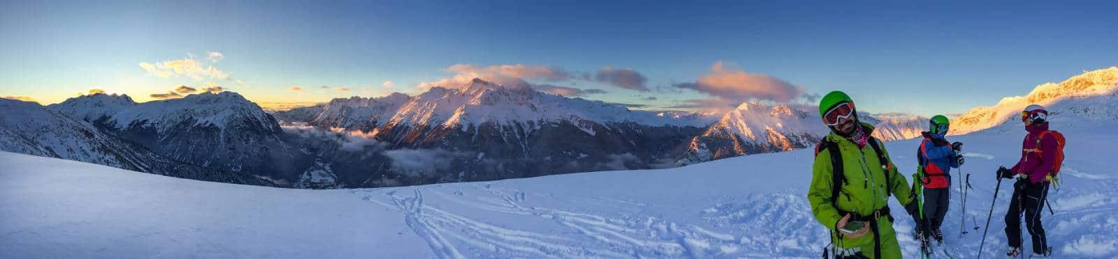 Ski Hors Piste de l'Alpe d'Huez - Domaine des Grandes Rousses