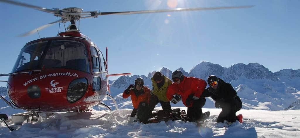 Voyage organisé héliski en Turquie avec Pure Ski Guiding - Denis Ailloud