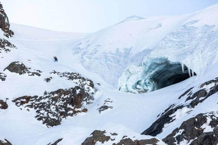 Hors piste à l'Alpe d'Huez