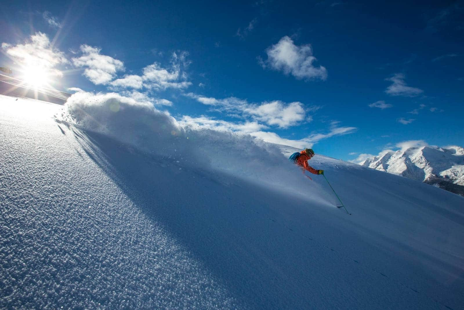 Expérience unique de ski sur Vaujany avec denis ailloud