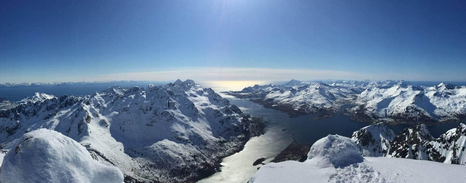 Trip de ski de randonnées aux Iles Lofoten - Norvège