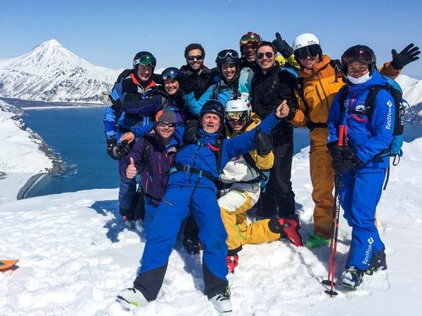 Trip ski au Kamchatka - Héliski Pure Ski Guiding