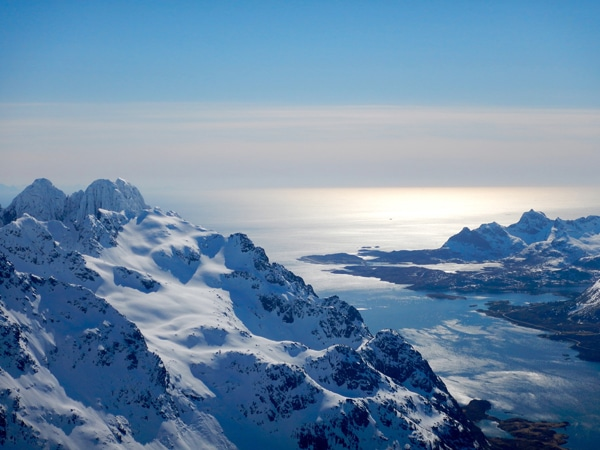 Trip ski de randonnée Iles Lofoten Norvège
